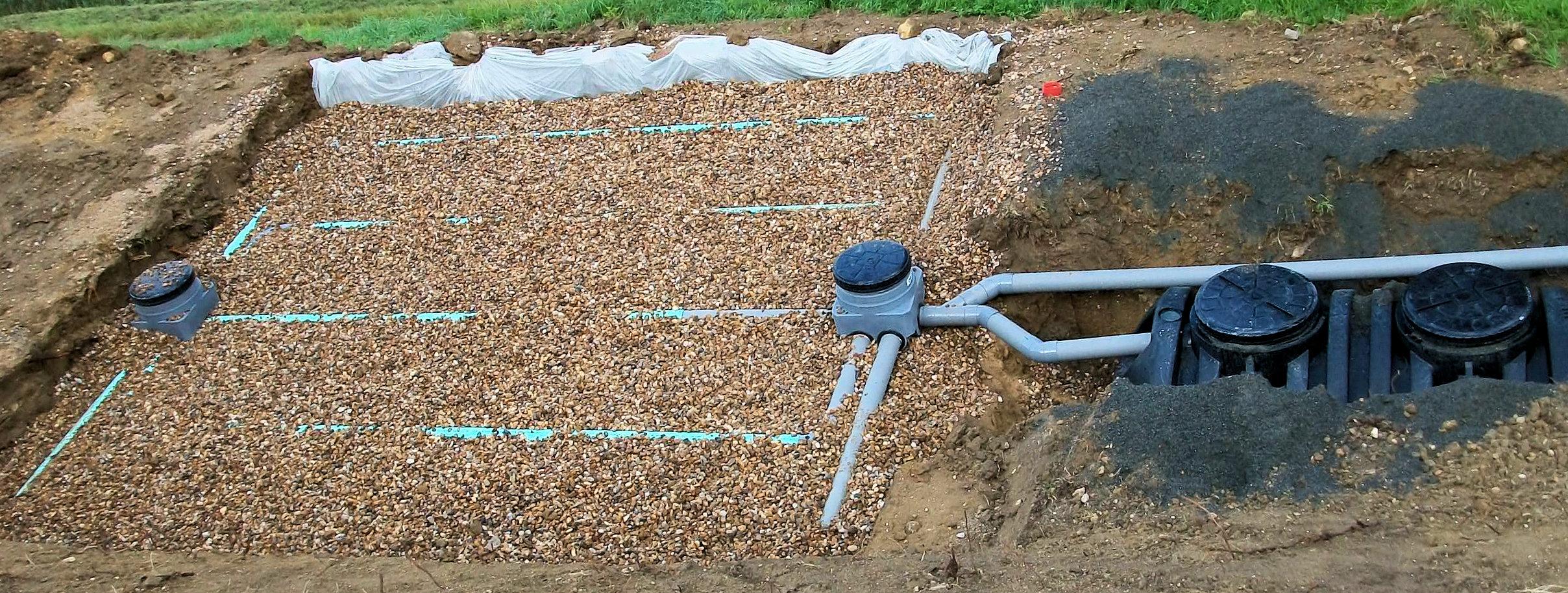 Filtre à sable verticale non drainé - WaterCleanOnline